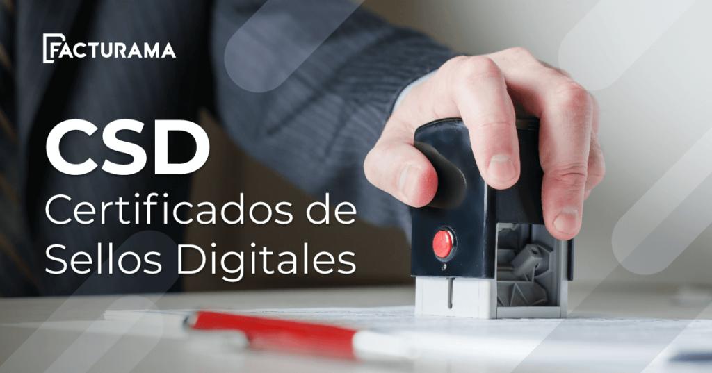 csd certificados digitales