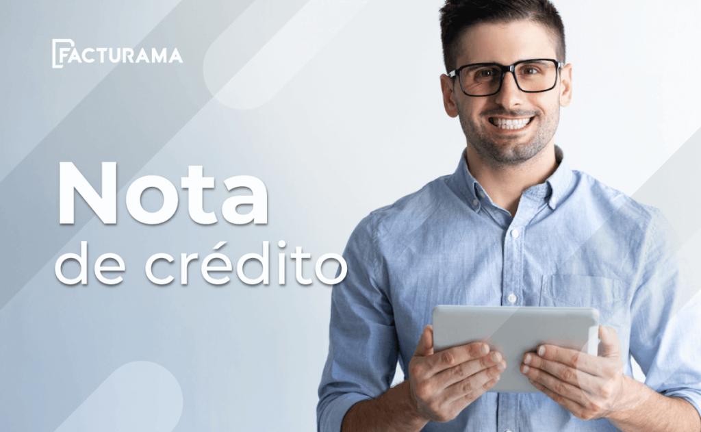 Notas de crédito concepto