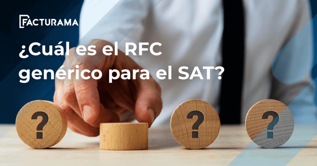 RFC Genérico SAT