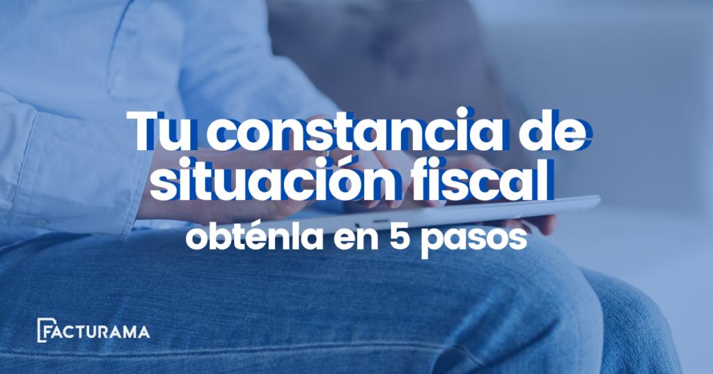 constancia de situacion fiscal
