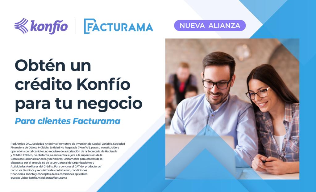 Konfio y Facturama