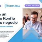 Alianza entre Facturama y Konfío impulsará el crecimiento de las Pymes Mexicanas con financiamiento.